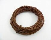 Rusty Wire Twisted 3 Rolls 20 Gauge 6 Yards (18 feet) Per Roll Craft Wire