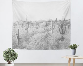 cactus tapestry desert home decor rustic dorm decor southwest photo tucson decor - Home Decor Tucson