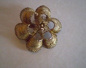 vintage Golden BOUFFANT PIN  Matching '50s Hair Styles Free Domestic Shipping