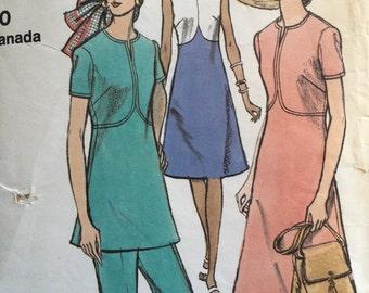 Vogue 8040 A-line Dress and Pants