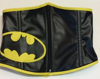 Batman Logo Inspired Waist Cincher