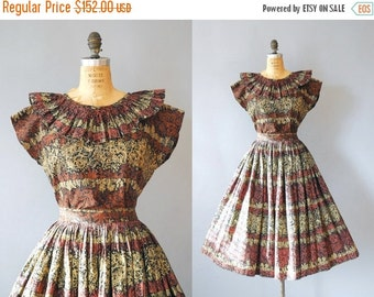30%OFF 1950s Two Piece / Fiesta then Siesta Set / 50s
