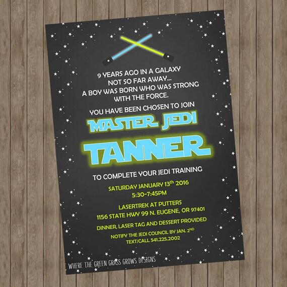 Star Wars Invitation - Printable