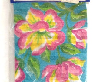 Needlepoint Kit – Bright Flowers – Sultana Kit No. 80022