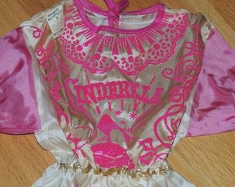 CINDERELLA Old Store Stock Collegeville Halloween Costume