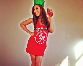 Limited Sriracha Halloween Tank Dress - Hat NOT Included