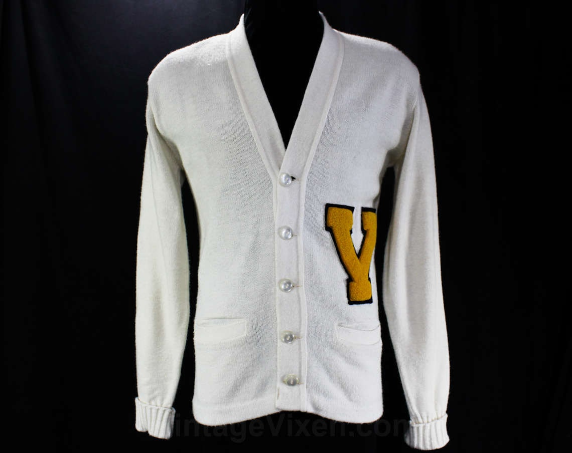 Small 1950s Letter Sweater 50s Men S High School