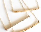 Gold Armenian Necklace, Armenian Bar Necklace, 14 k  gold fill Armenian Necklace, Armenian Necklaces