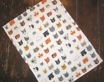 Cat Print Kitchen Towel