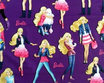 Barbie Fabric Barbie with Poodle Material Barbie with Kitten VIP Cotton Fabric
