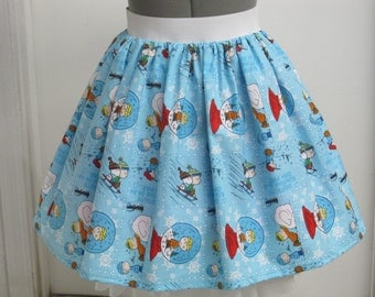 Charlie Brown and Friends - Christmas Skirt