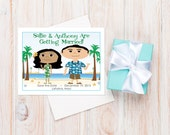 Hawaiian Wedding Save-the-Dates, Hawaii Wedding, Beach Wedding, Destination Wedding, Unique Wedding Ideas, Wedding Cards