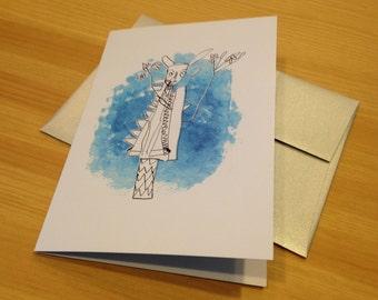 Art History Inspired Holiday Gift Card Set