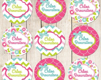 Dishwasher Safe Waterproof Labels Waterproof Stickers Name Label Personalized Labels Daycare Label School Label Bottle Labels - Chloe