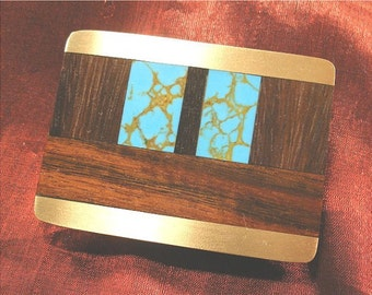 Brother Gift Unique Wood Belt Buckle for Men Gift Handmade BB53