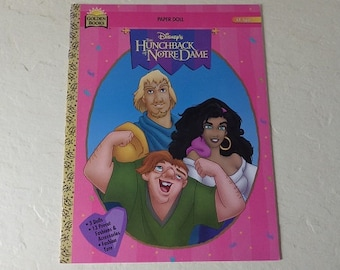 Paper Doll Booklet: Disney's The Hunchback of Notre Dame, 1996