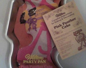 1977 Pink Panther Wilton Cake Pan Mold