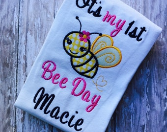 First Bee Day Boutique Shirt