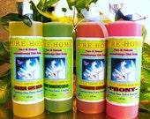 Aromatherapy Liquid Dish soap---Pure Natural Nourishment---NEW Big 18 oz---Pick your Favorite Scent