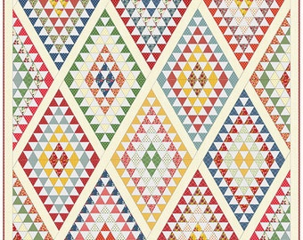 Bread 'n Butter - Diamonds Quilt Pattern by Sandy Klop for American Jane