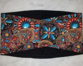 Male Dog Belly Bands Waist 12.25 x 3.50 Fits 10.25 to 14.25 inches Wraps by Sew Dog Diapers Quilted Padded Belt BellyBand # 900 WESTERN