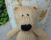 Spencer the Bear Knitted Toy