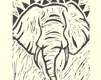 Friends of David Sheldrick Wildlife Trust - Elephant Fine Art Giclee Print