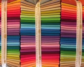 SALE-STASH BUILDER-Fat quarter Bundle-Kona 2014 new colors