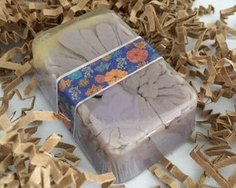 Ginger Plum, Goats milk and Honey soap
