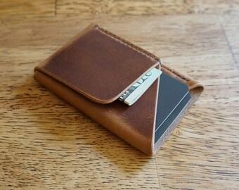 Doublecross Minimalist Wallet (Natural)