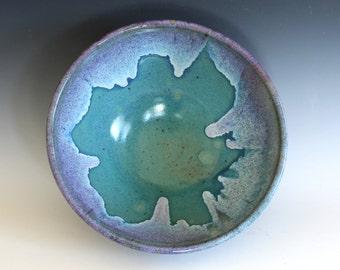 Large Handmade Ceramic Bowl, pottery bowl, wheel thrown bowl, stoneware bowl, ceramic serving bowl