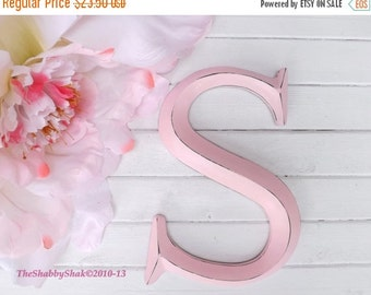 SUMMER SALE Large Letter S/ Capital Letter S / Wall Letter / Initials / Photo Prop / Monogram / Shabby Chic Decor