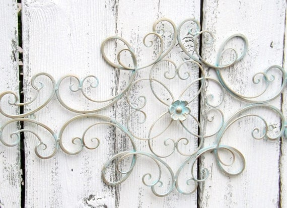 Scrolled Wrought Iron // Shabby Chic //Wrought By