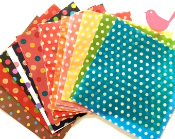 Chiyogami Origami Tracing papers and origami papers- 17 pieces