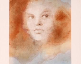 Evisa by Leonor Fini, Lithograph, c. 1970