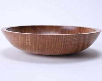 """White Oak Wooden Bowl #1496 6 3/4"""" X 1 1/2"""""""