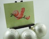 Christmas Card - Birds - Post Card - Monkey Brains - monkeybrains - monkeybrainsdesign