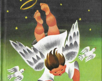 Vintage Mid Century Illustrated Children's Book - The Littlest Angel
