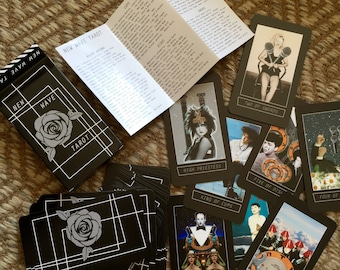 New Wave TAROT Deck Version 2 - 1980s musician Tarot Art Deck