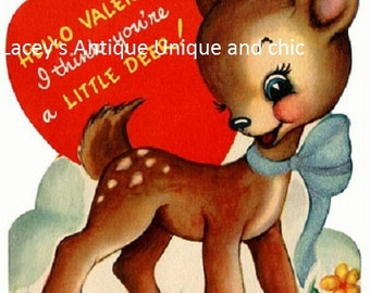 Absolutely Darling Vintage Valentine for your invitations, cards or scrapbooking