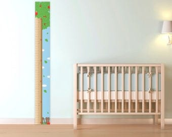 Apple Tree Growth Chart for Children, printable