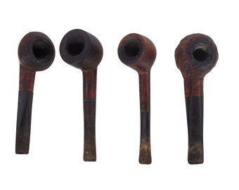 Set of 4 Briar Pipes - Used