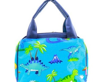 Personalized Boys Insulated Lunch bag-DINOSAUR Lunch Bag
