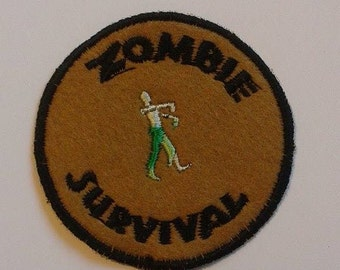 Zombie Survival patch, Walking Dead, iZombie, patches UK