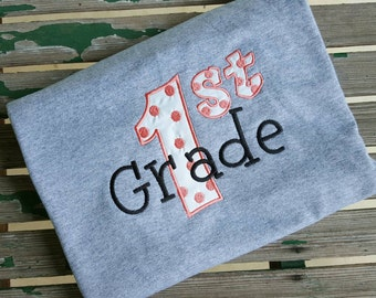 Custom 1st Grade shirt First Grade shirt School shirt