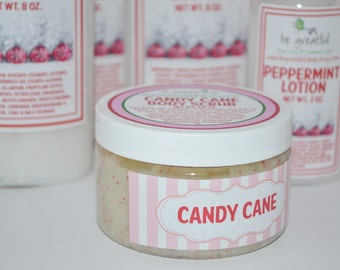 Candy Cane Hand and Body Scrub
