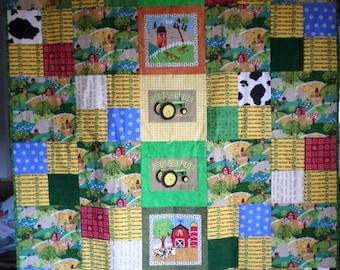 John Deere for Kids Quilt and Pillowcase
