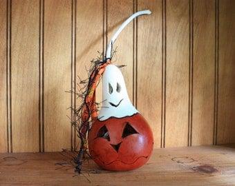 Ghostly Mini Gourd 3