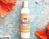 Organic Body Serum - silky body moisturizer scented with Mandarin Vanilla Essential Oil -- Natural organic body lotion