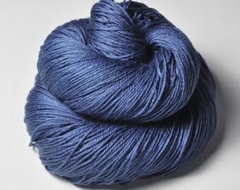 Troubled water OOAK -  Merino/Silk Fingering Yarn Superwash